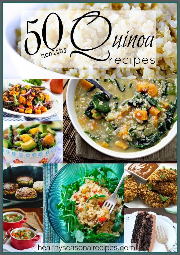 Quinoa Recipe Healthy  50 healthy quinoa recipes Healthy Seasonal Recipes