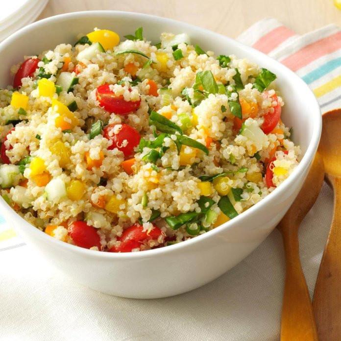 Quinoa Recipe Healthy  Colorful Quinoa Salad Recipe