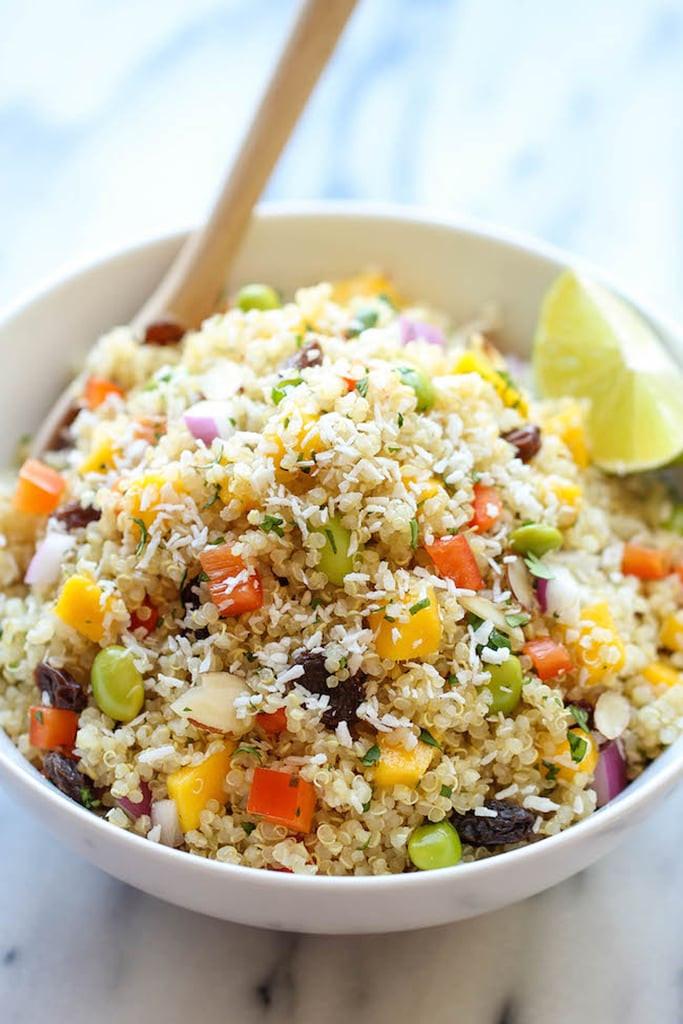 Quinoa Recipe Healthy  Whole Foods Copycat California Quinoa Salad
