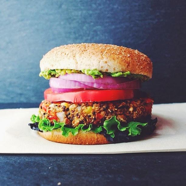 Quinoa Vegan Burger  THE SIMPLE VEGANISTA Quinoa & White Bean Veggie Burger