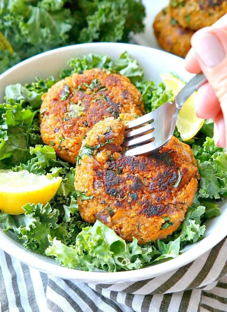 Quinoa Vegan Burger  Quinoa Kale Veggie Burgers