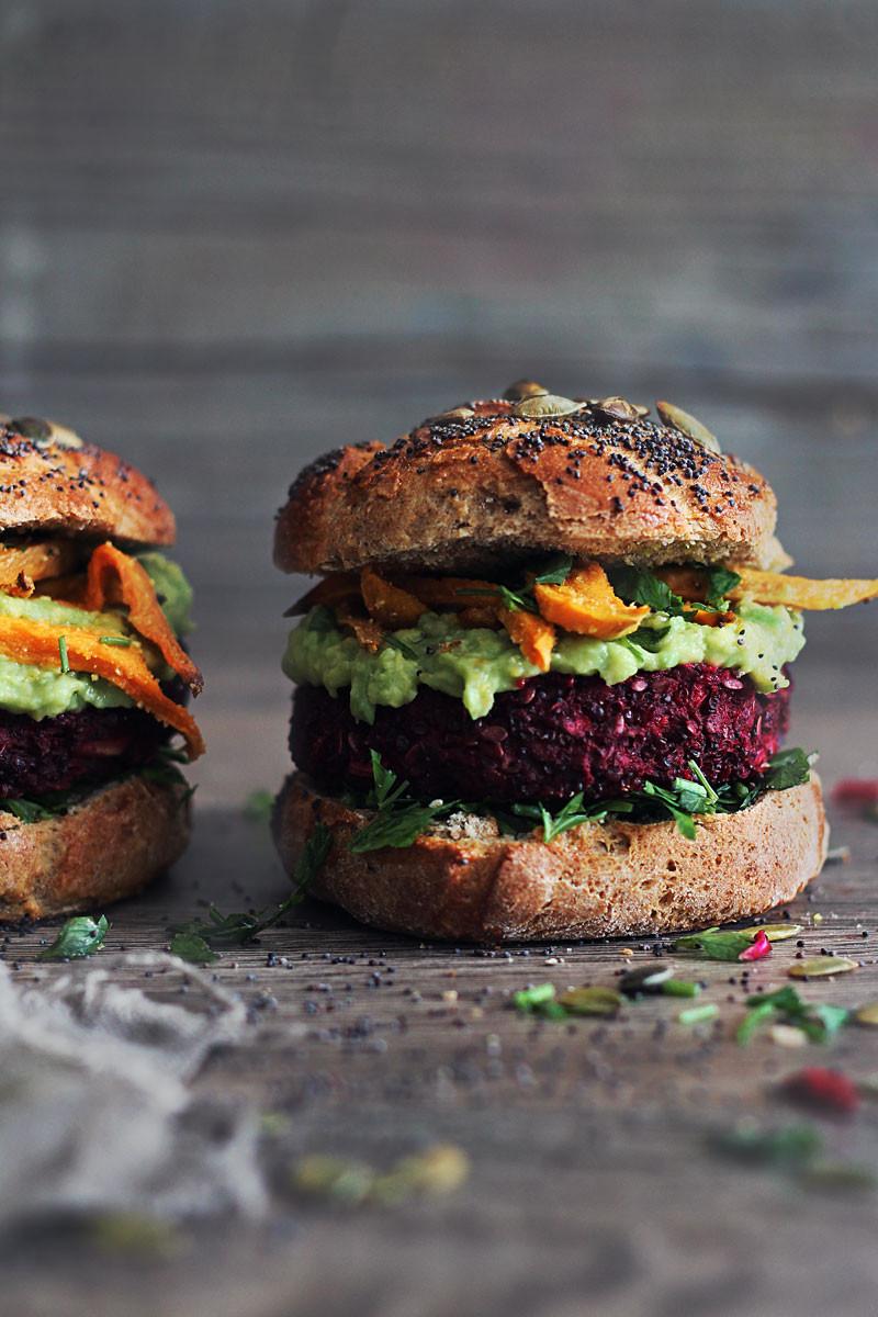 Quinoa Vegan Burger  The Ultimate Veggie Burger
