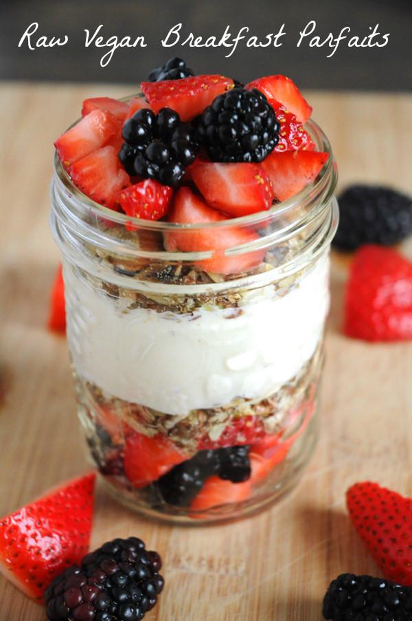 Raw Vegan Breakfast Recipes  Menu Plans