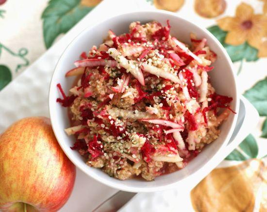 Raw Vegan Breakfast Recipes  Raw Pink Breakfast Bowl a great quick alternative to