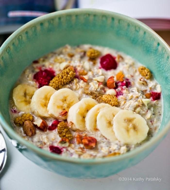 Raw Vegan Breakfast Recipes  Choosing Raw Bircher Muesli from Gena Hamshaw s New Cookbook