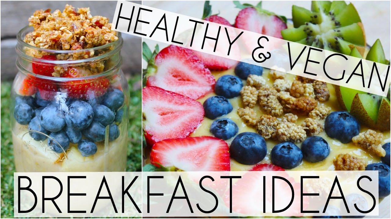 Raw Vegan Breakfast Recipes  healthy vegan breakfast ideas raw in college Pop Diets