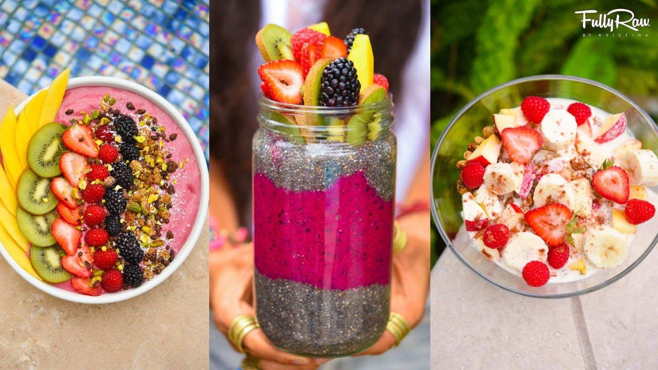 Raw Vegan Breakfast Recipes  3 FULLYRAW VEGAN BREAKFAST RECIPES YOU NEED TO TRY