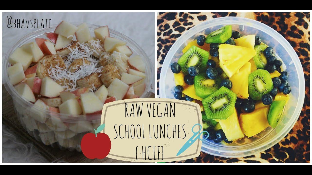 Raw Vegan Lunch Recipes  Raw Till 4 School Lunch Ideas HCLF Raw Vegan
