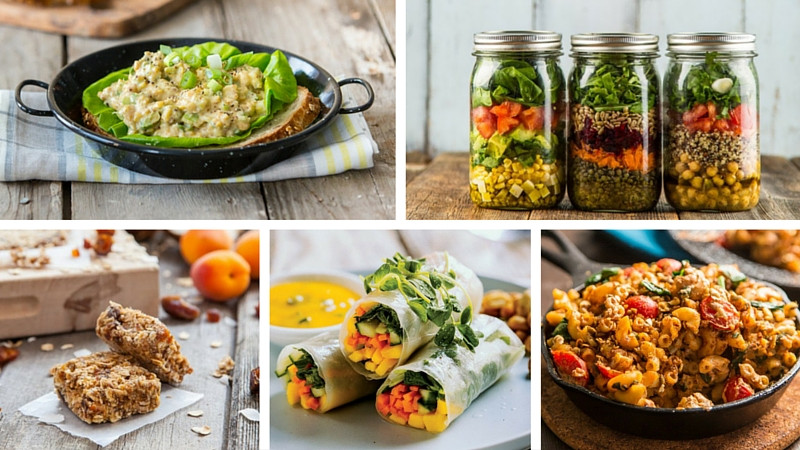 Raw Vegan Lunch Recipes  Say Goodbye to Boring Brown Bag Lunches With These 5