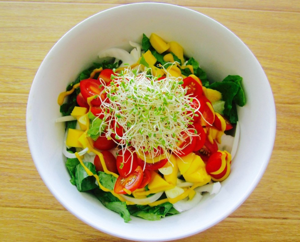 Raw Vegan Lunch Recipes  Deli Lunch Salad – Raw & Vegan
