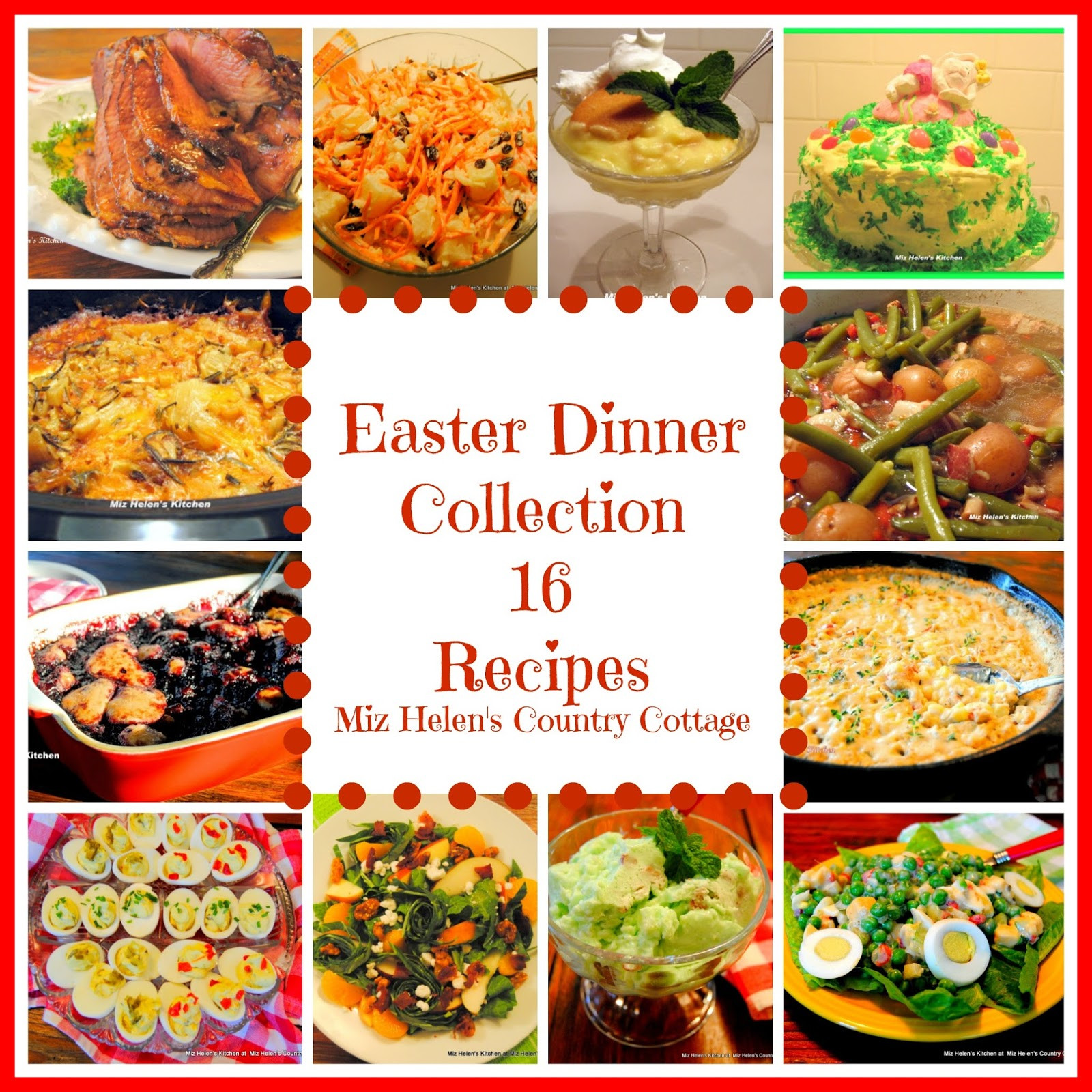 Receipes For Easter Dinner  Easter Dinner Recipe Collection