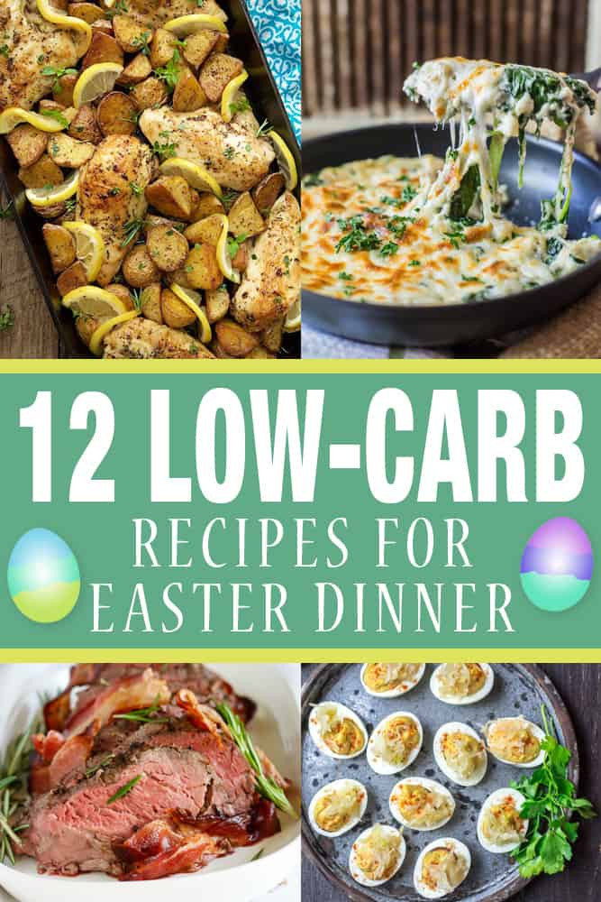 Receipes For Easter Dinner  12 Low Carb Recipes for Easter Dinner
