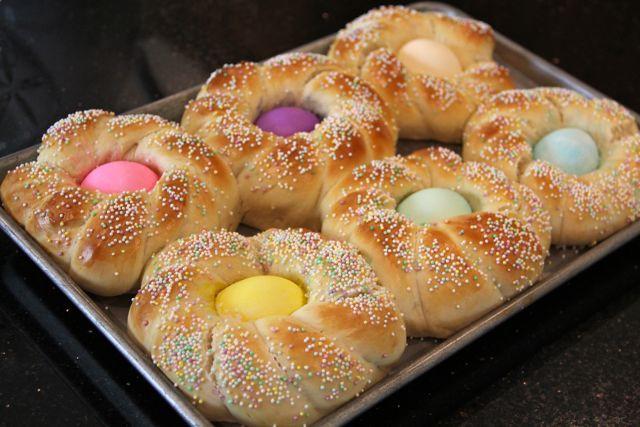 Recipe For Easter Bread  Catholic Cuisine Italian Easter Bread