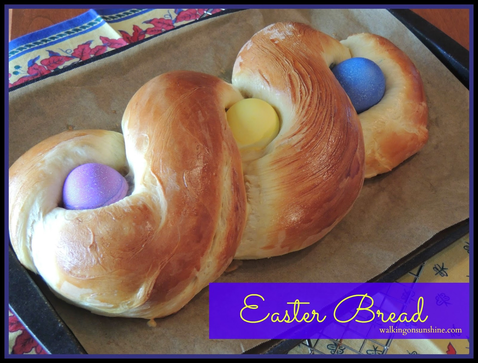 Recipe For Easter Bread  Recipe Easter Bread a Family Tradition Walking on Sunshine