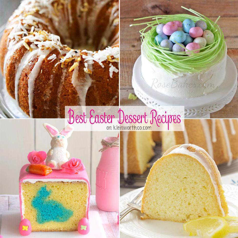 Recipe For Easter Desserts  Best Easter Dessert Recipes Kleinworth & Co