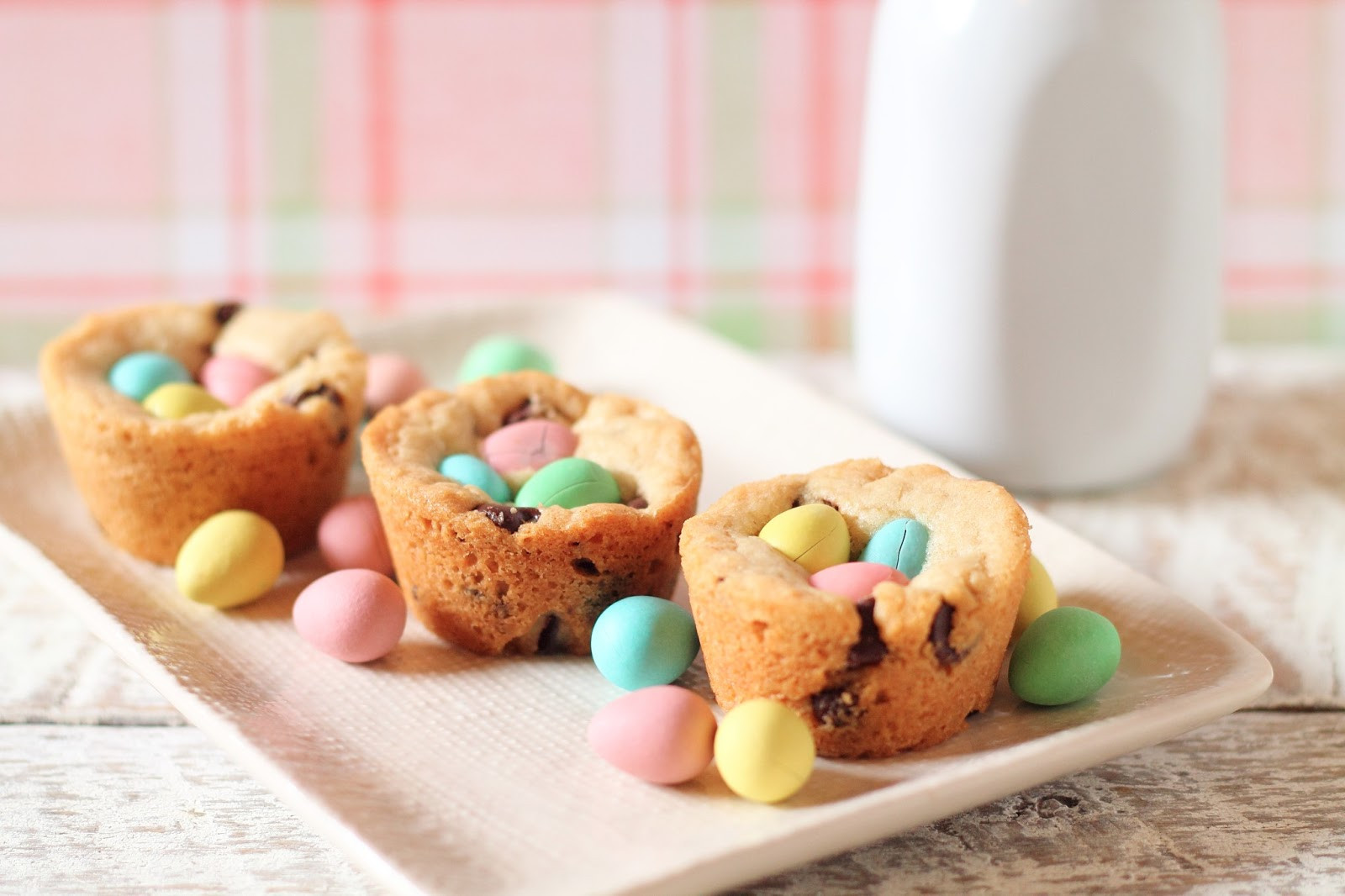Recipe For Easter Desserts  Getting My Just Desserts Chocolate Chip Cookie Nests