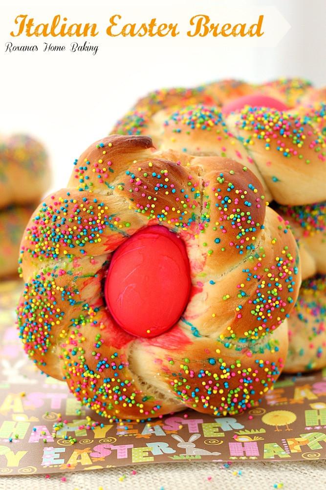 Recipe For Italian Easter Bread  Pane di Pasqua Italian Easter bread recipe