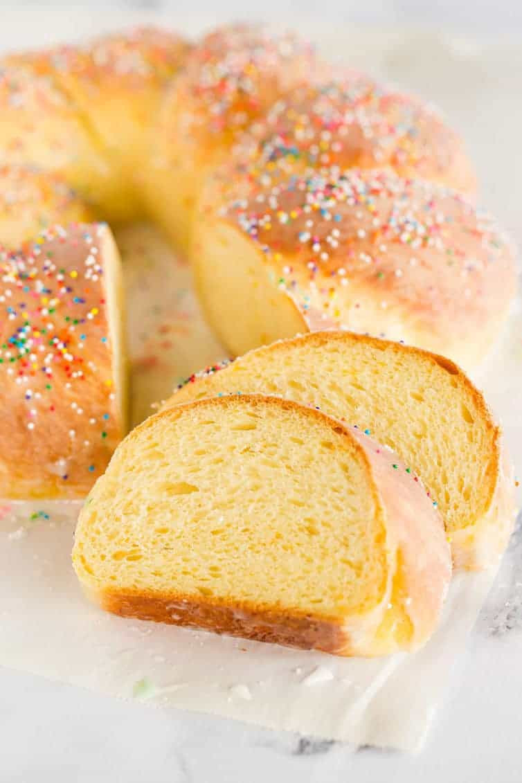 Recipe For Italian Easter Bread  Italian Easter Bread Recipe