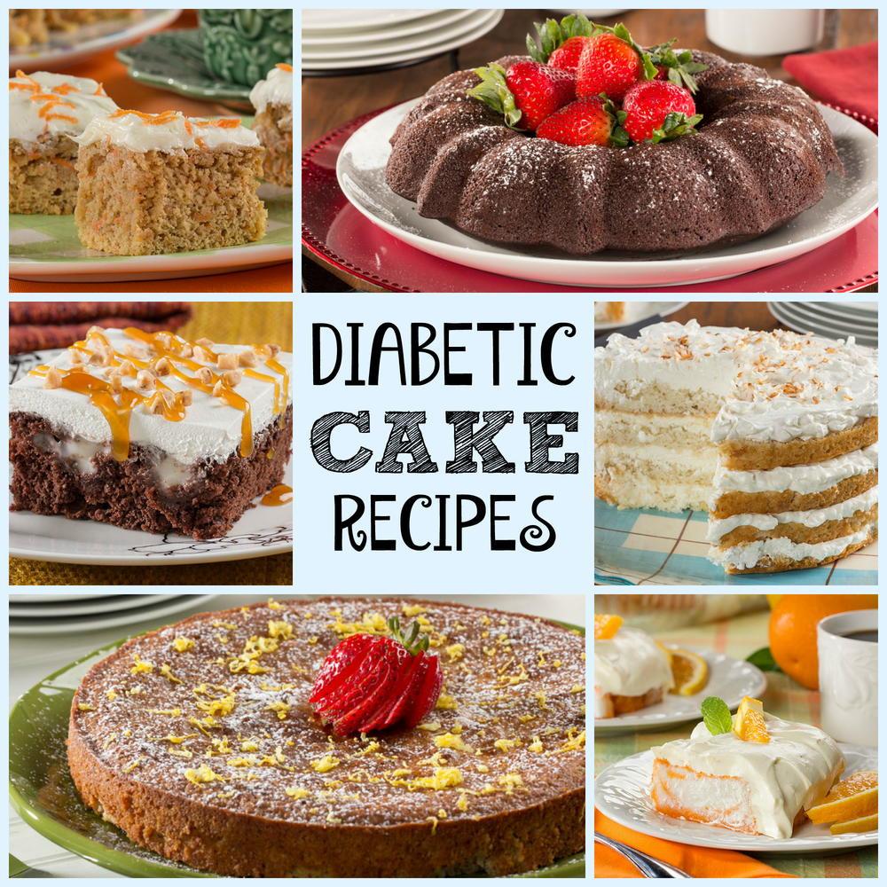 Recipes For A Diabetic  16 Diabetic Cake Recipes Healthy Cake Recipes for Every