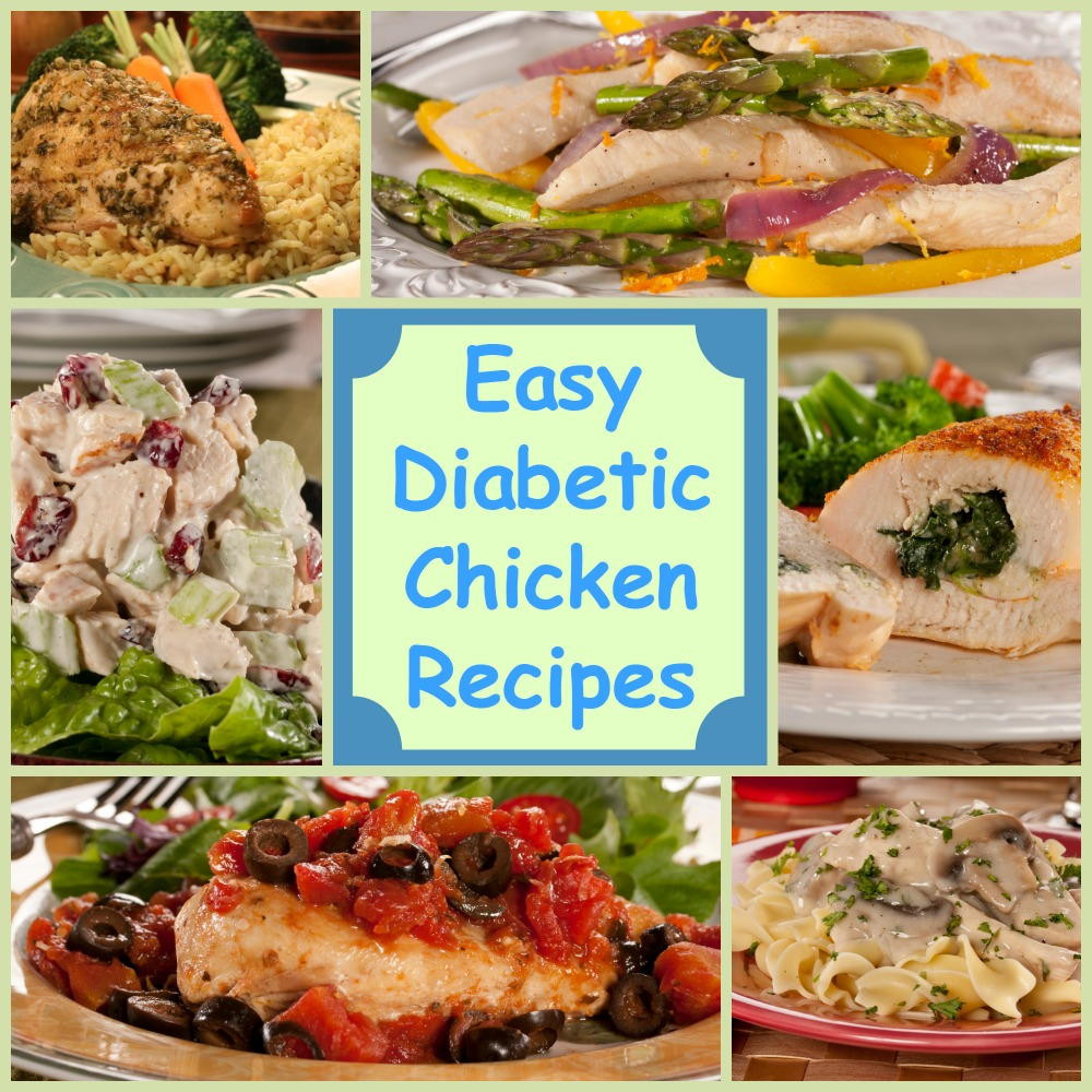 Recipes For A Diabetic  Eating Healthy 18 Easy Diabetic Chicken Recipes