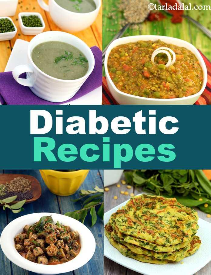 Recipes For A Diabetic  Diabetic Recipes 300 Indian Diabetic Recipes Tarladalal