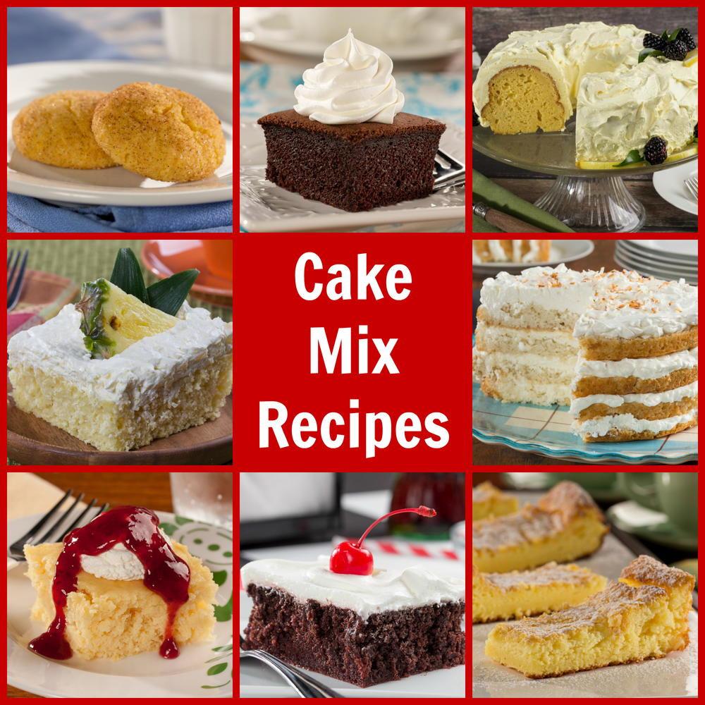 Recipes For Diabetic Cake  7 Diabetic Friendly Cake Mix Recipes