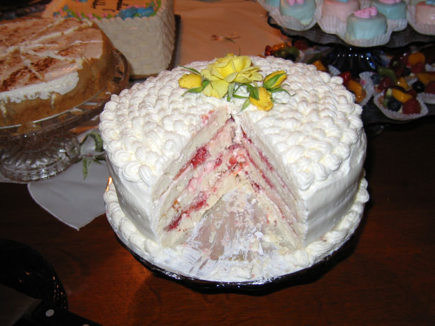 Recipes For Diabetic Cake  Diabetic Spring Fling Layered White Cake Recipe Food