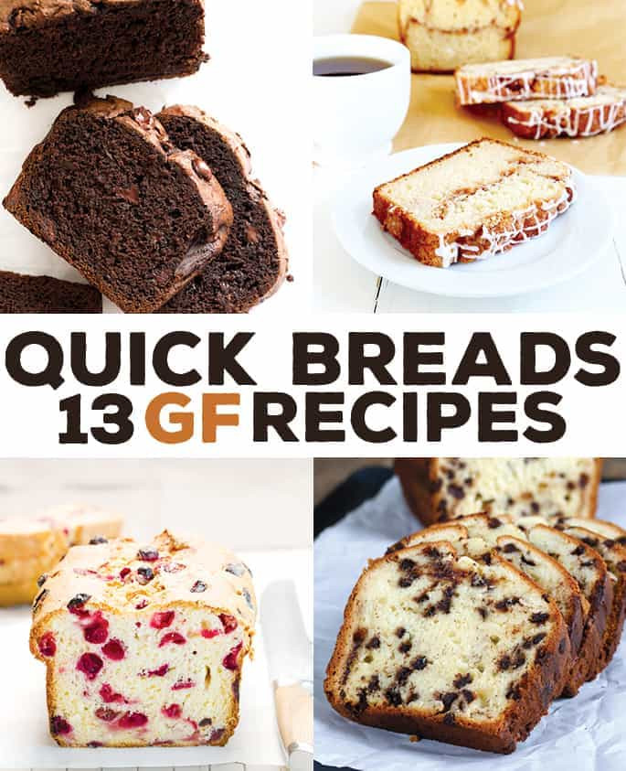 Recipes For Gluten Free Bread  13 Gluten Free Quick Bread Recipes ⋆ Great gluten free