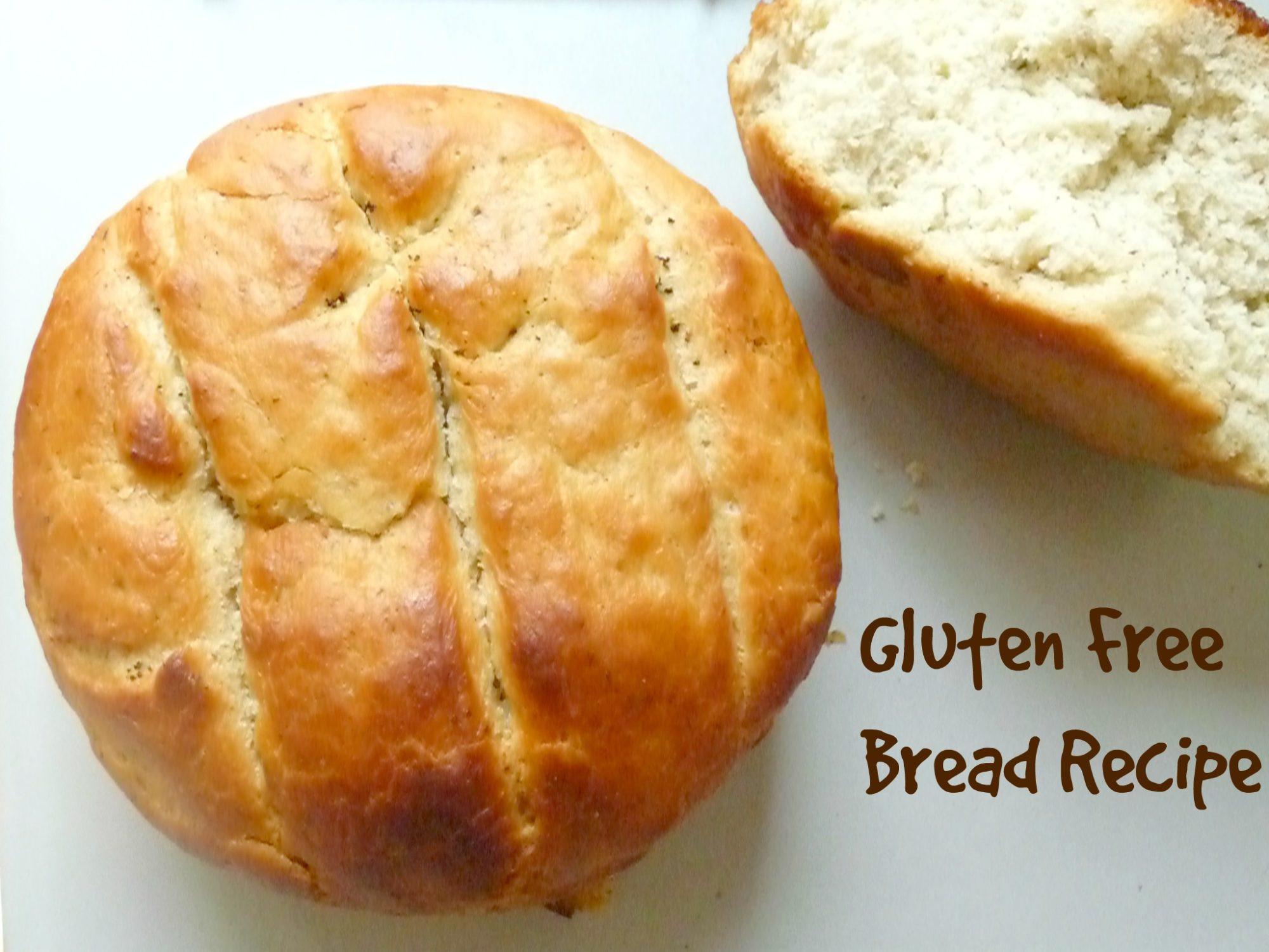 Recipes For Gluten Free Bread  Gluten Free Bread recipe The Seaman Mom