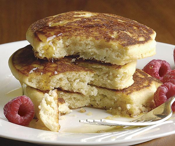 Recipes For Gluten Free Pancakes  Gluten Free Buttermilk Pancakes Recipe FineCooking