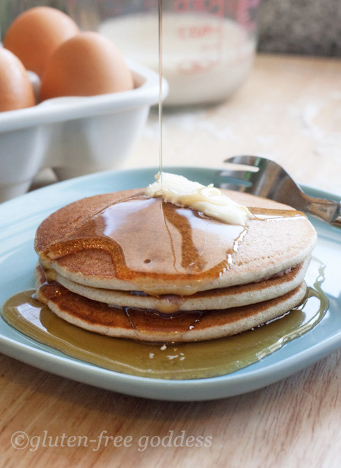 Recipes For Gluten Free Pancakes  Gluten Free Goddess Recipes Best Gluten Free Pancakes