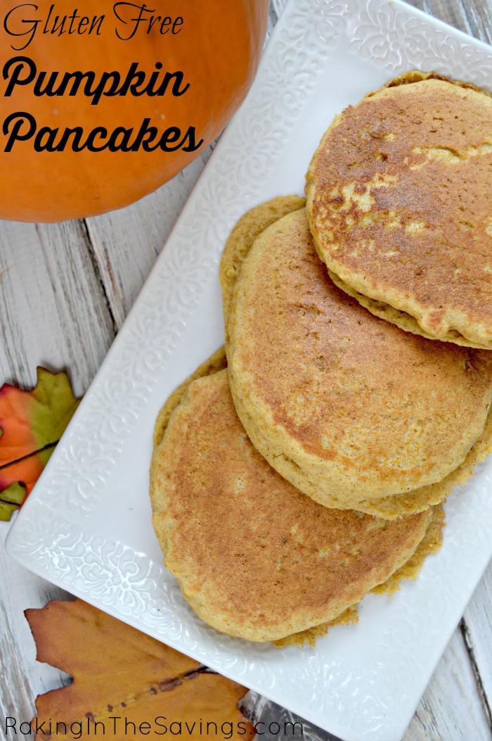 Recipes For Gluten Free Pancakes  Gluten Free Pumpkin Pancakes Recipe