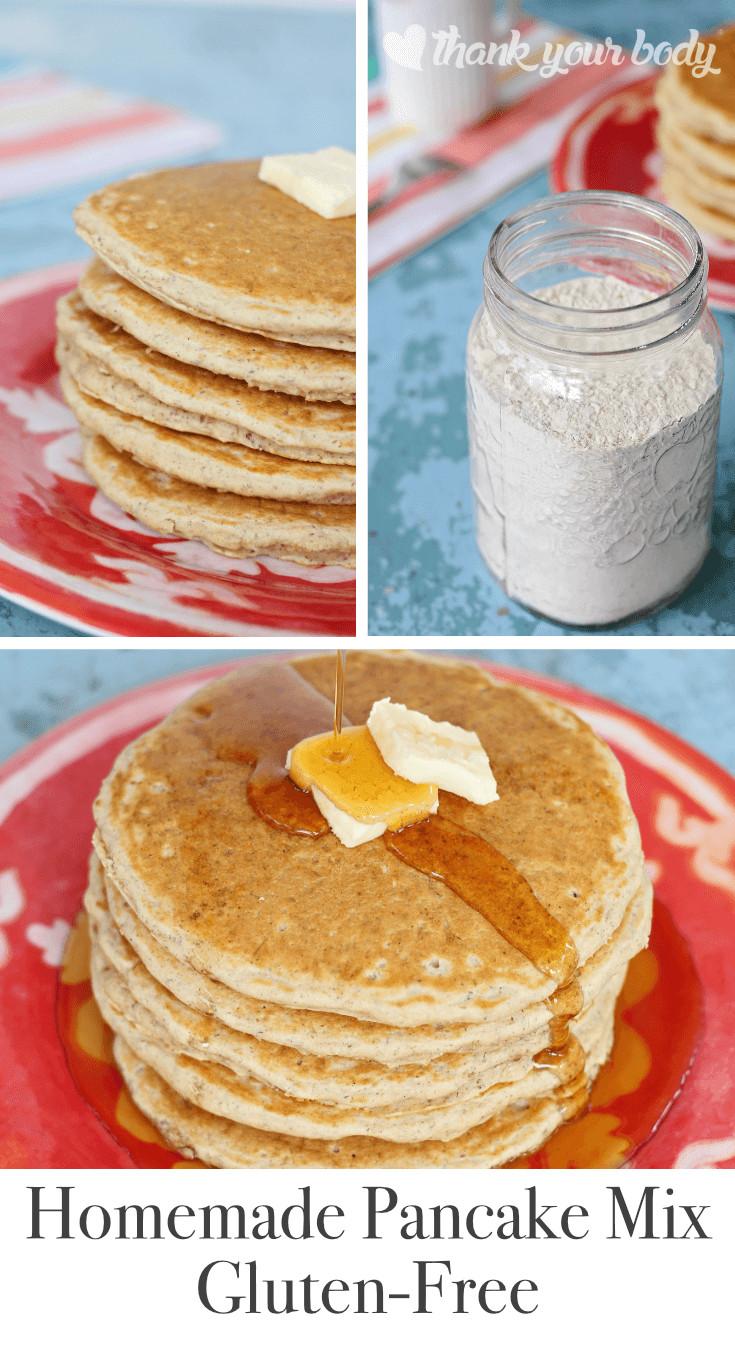 Recipes For Gluten Free Pancakes  Gluten Free Pancake Recipe Easy make ahead pancake mix