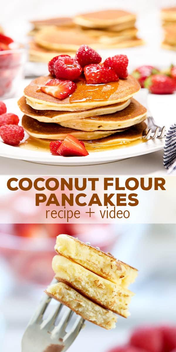 Recipes For Gluten Free Pancakes  gluten free pancake recipe coconut flour