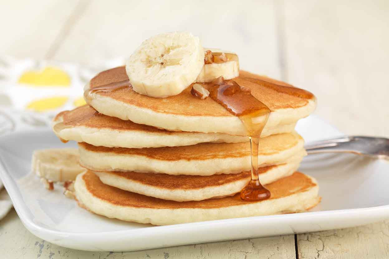 Recipes For Gluten Free Pancakes  Gluten Free Pancakes made with baking mix Recipe