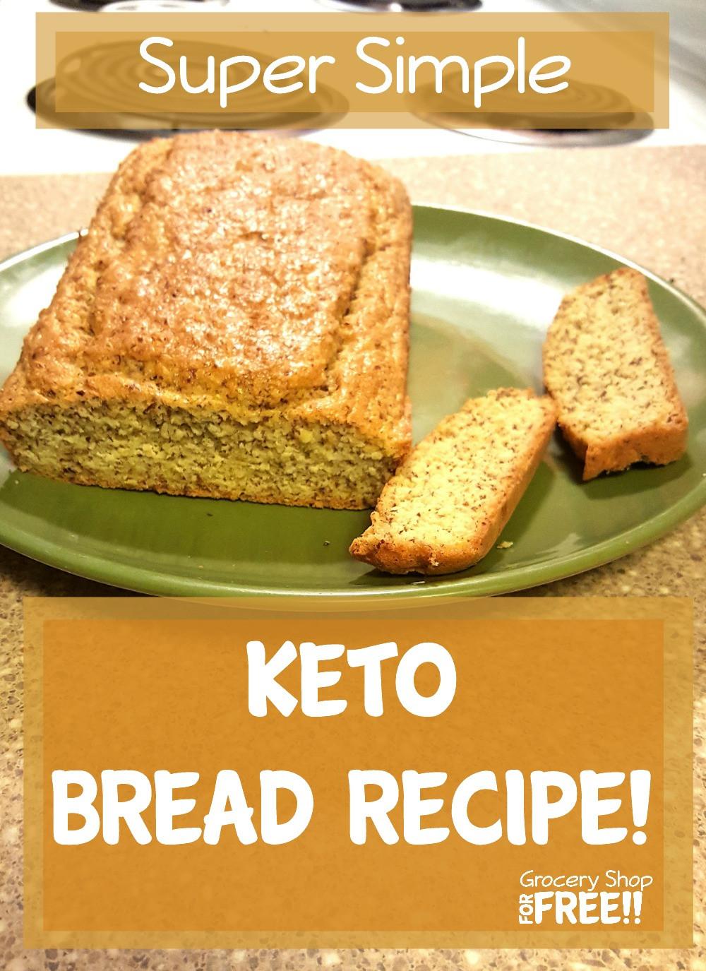 Recipes For Keto Bread  Easy Keto Bread Recipe