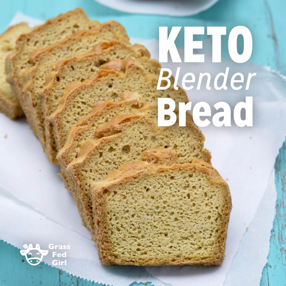 Recipes For Keto Bread  Easy Low Carb Keto Blender Bread Recipe