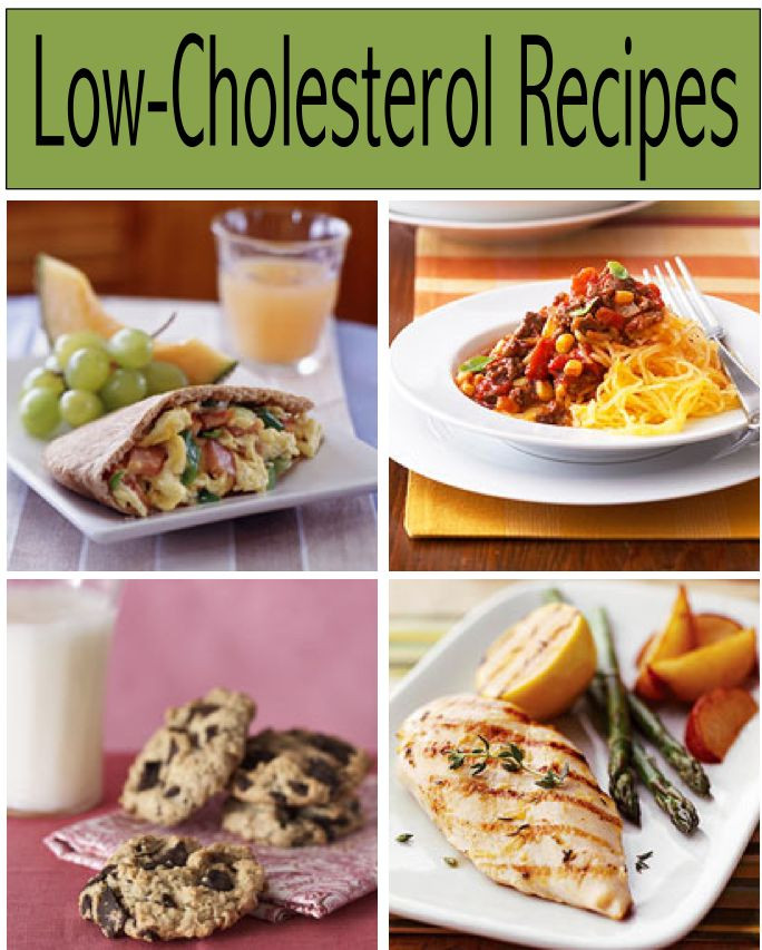 Recipes For Low Cholesterol Diets  108 best images about Healthy meals on Pinterest