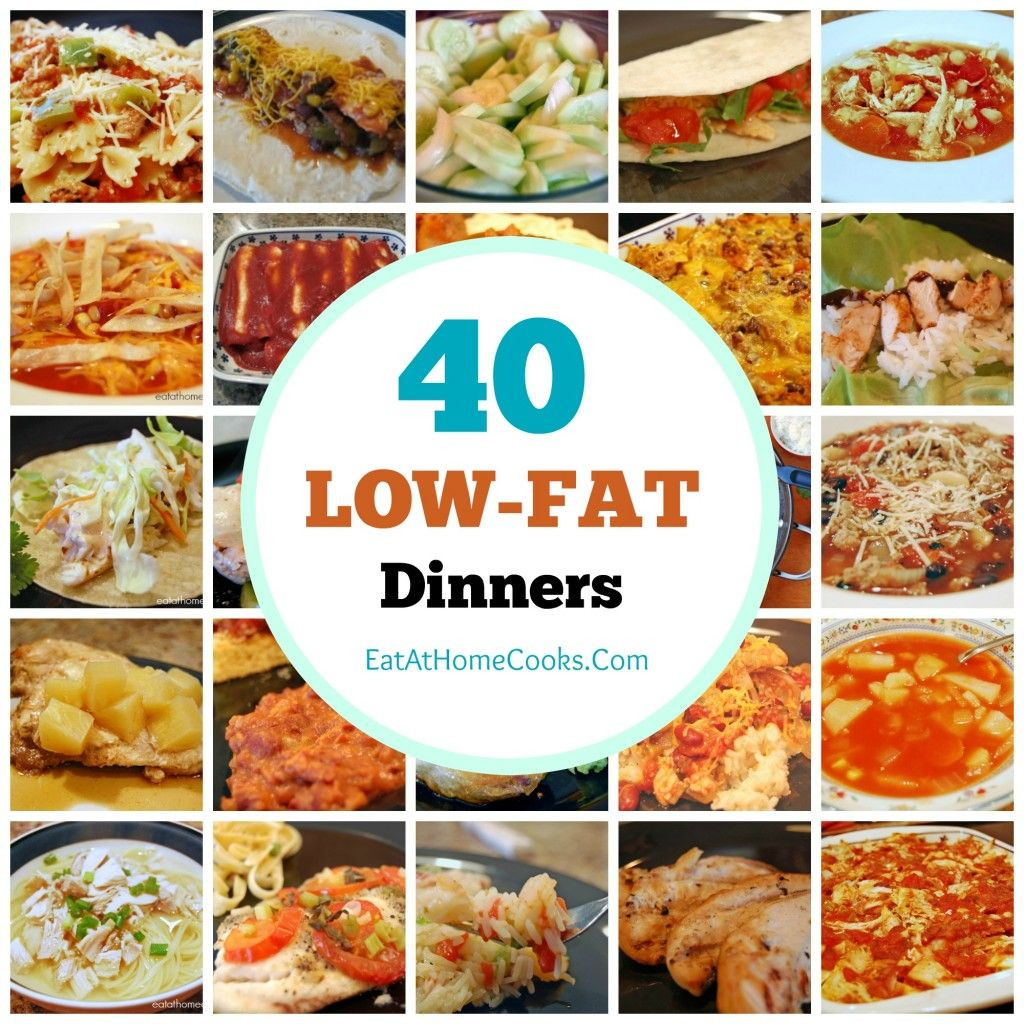Recipes For Low Fat Diets  My Big Fat List of 40 Low Fat Recipes