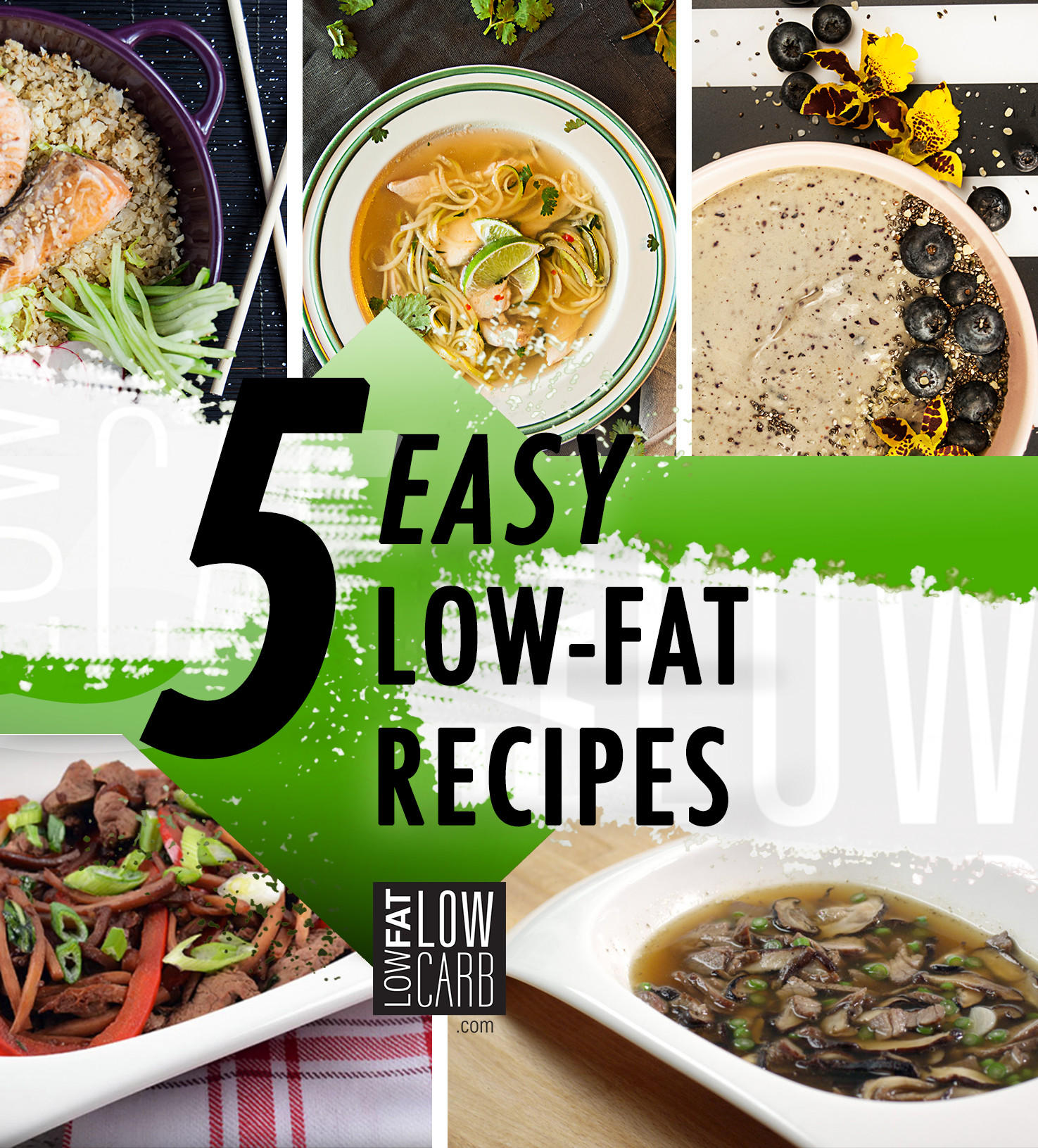 Recipes For Low Fat Diets  5 Low Fat Diet Recipes for a Healthy Start Low Fat Low Carb