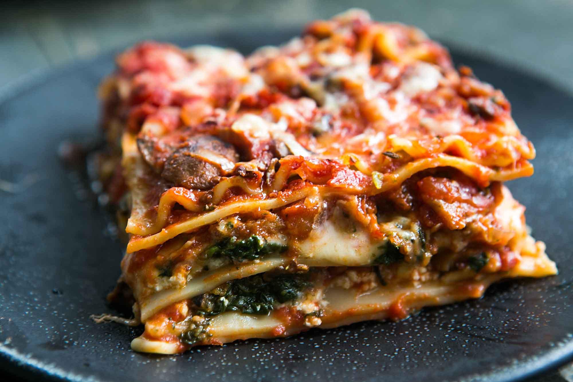 Recipes For Vegetarian Lasagna  Ve able Lasagna A Favorite for All
