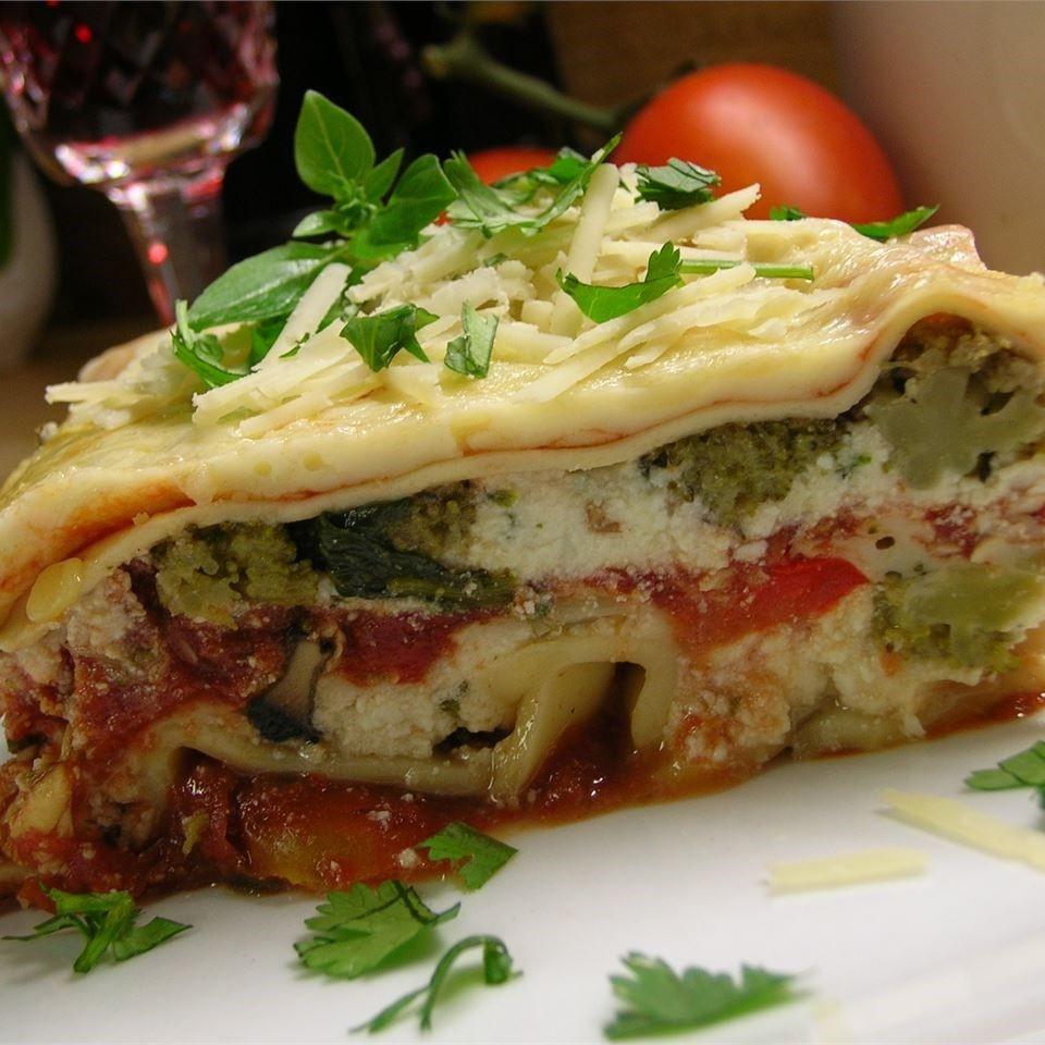 Recipes For Vegetarian Lasagna  Ve able lasagne recipe All recipes UK