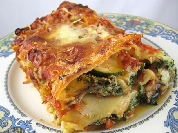 Recipes For Vegetarian Lasagna  Ve arian Lasagna Recipe Food
