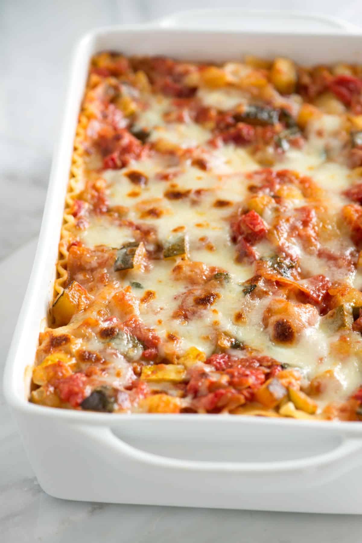 Recipes For Vegetarian Lasagna  Easy Ve able Lasagna Recipe