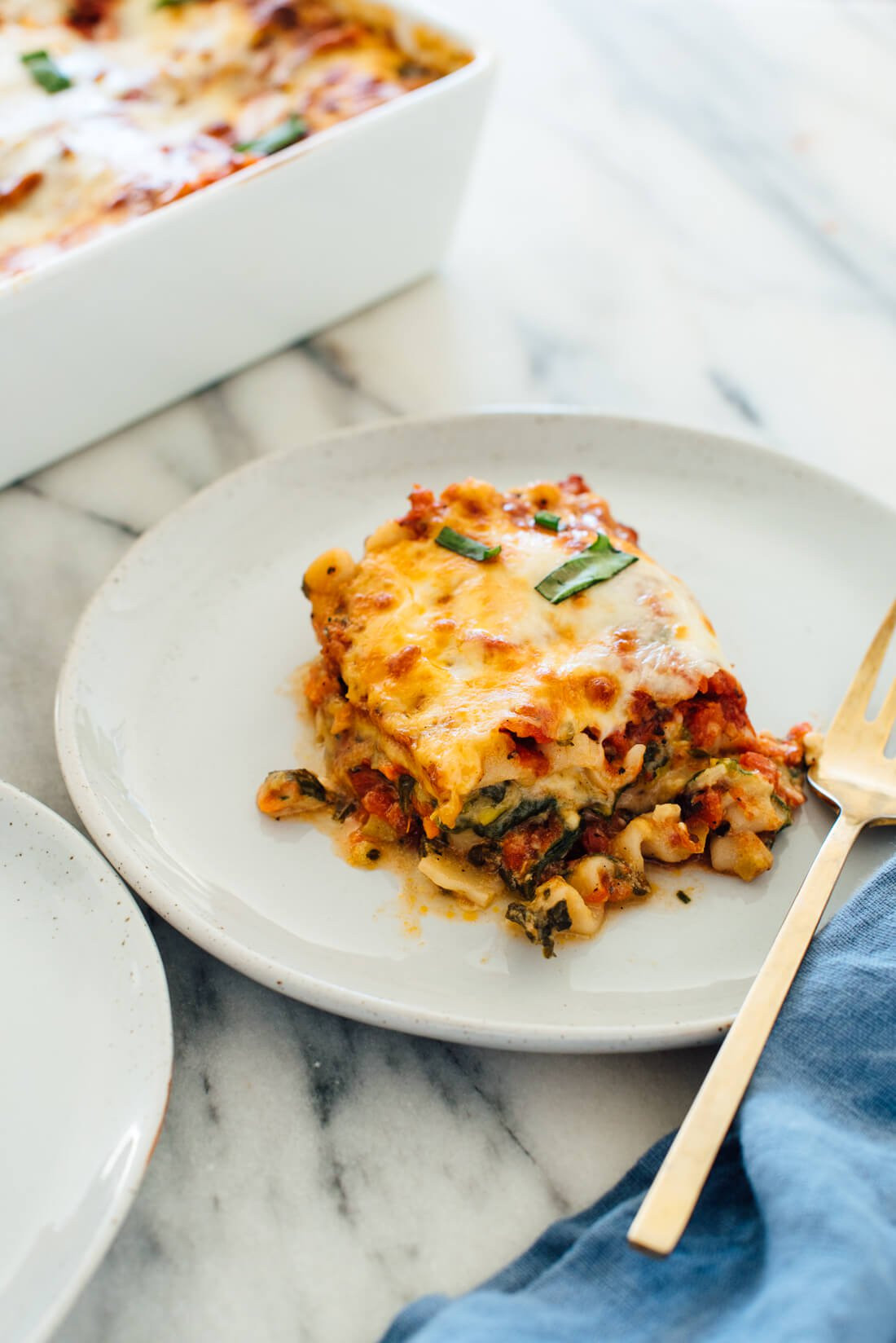 Recipes For Vegetarian Lasagna  Best Ve able Lasagna Recipe Cookie and Kate