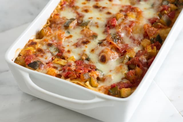 Recipes For Vegetarian Lasagna  Quick and Easy Creamy Ve able Soup Recipe