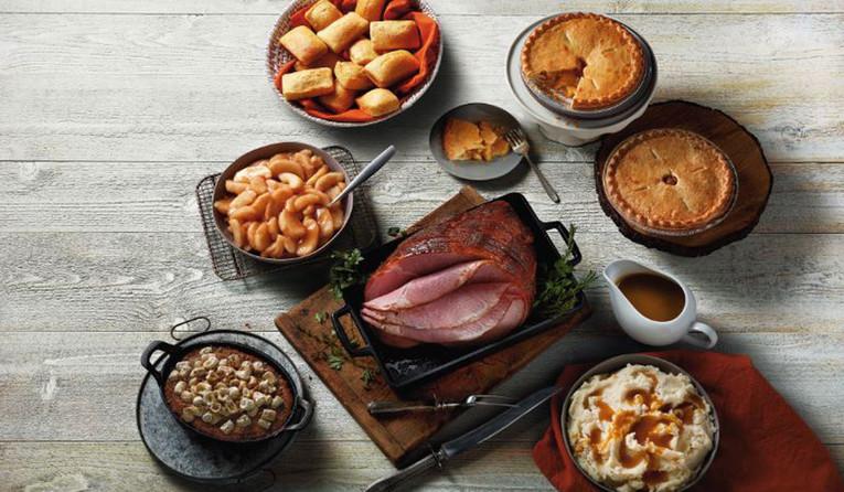 Restaurants Serving Easter Dinner  Boston Market fering Easter Heat & Serve Ham Dinner for