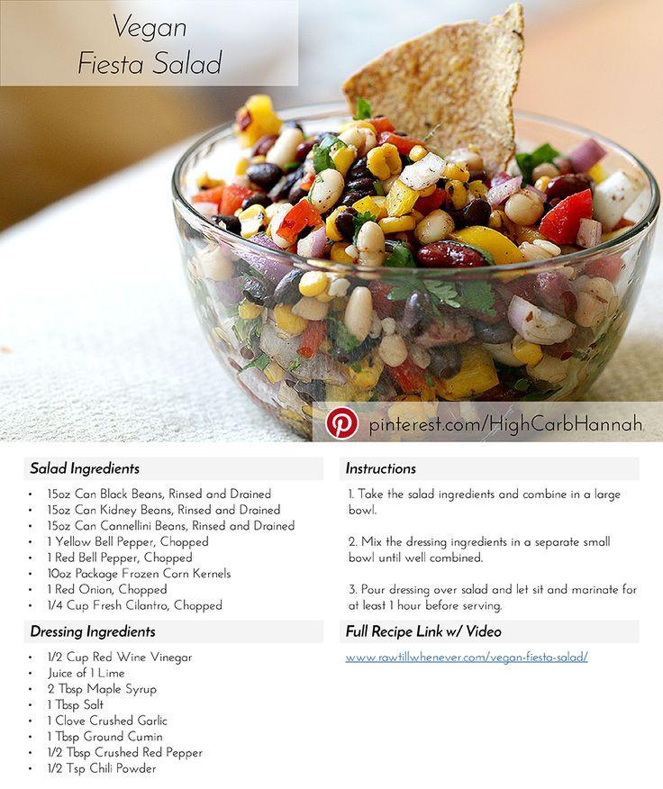Rice And Beans Diet Weight Loss  Vegan Fiesta Salad