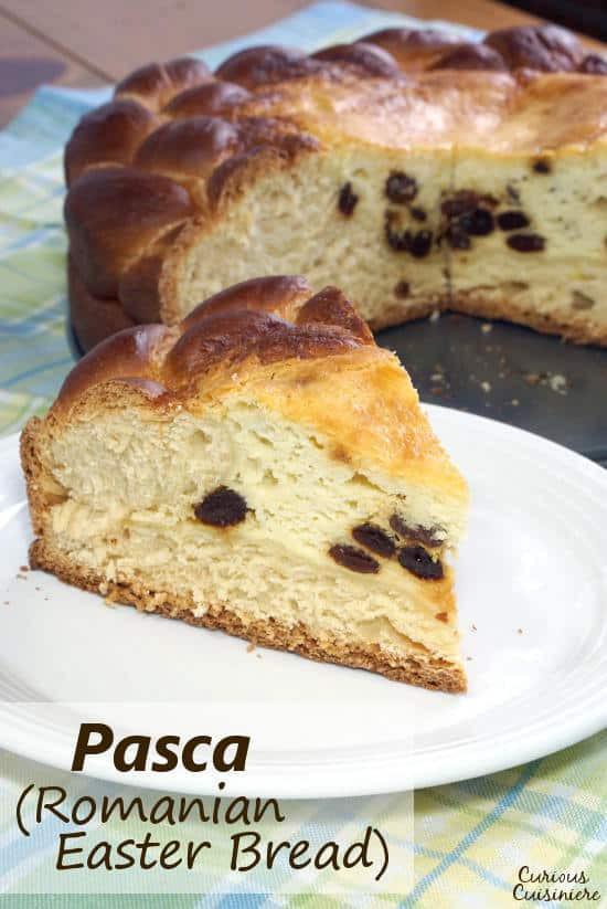 Romanian Easter Bread  Pasca Romanian Easter Bread • Curious Cuisiniere