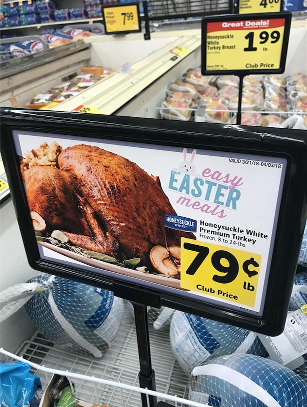 Safeway Easter Dinner  Easter Ham Sale Get Cook s Ham Just $ 77 lb at Safeway